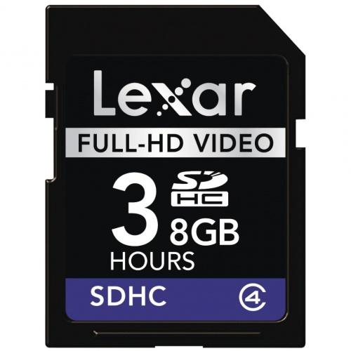 LEXAR SDHC 8GB Full-HD video